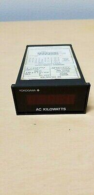 Yokogawa Ac Kilowatts Dc Voltmeter Panel Meter 2351 00