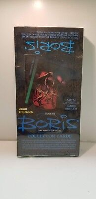 Boris Series 2 1992 Comic Images Collectible Trading Card Unopened Pack Box