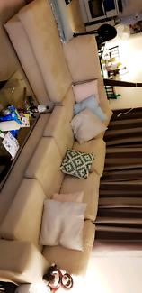 L shaped sofa lounge
