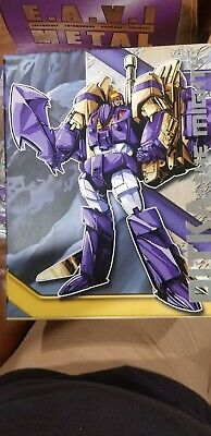 Transformers KFC Eavi Metal Phase Seven A: Ditka Blitzwing  MISB IN USA NOW!