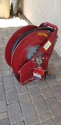 Alemite Model 7342 Heavy Duty Hose Reel W Fill-rite 800c Gpi Fuel Meter