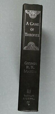 GAME OF THRONES, book 1 Song of Ice and Fire, by George R.R. Martin 1st ed, 1996