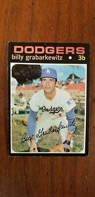 1971 Topps Billy Grabarkewitz baseball card Los Angeles Dodgers #85 EX+