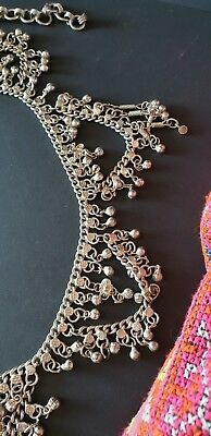 Old Turkish Belly Dancing Silver Belt …beautiful collection / display piece
