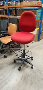 DRAFTING CHAIR ergonomic stool gas lift office furniture swivel seat