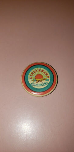 Rare Sunbeams Salvation Army Girl Guards Vintage Pin Pinback Button Badge