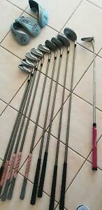 LADIES GOLF CLUBS AND PUTTER- ADAMS IDEA