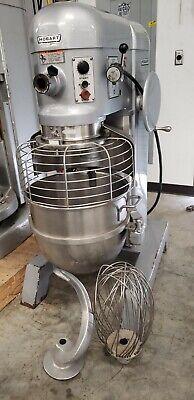 Hobart H600 60 Quart Mixer With Bowl Bowl Guard Hook Whisk 3 Phase