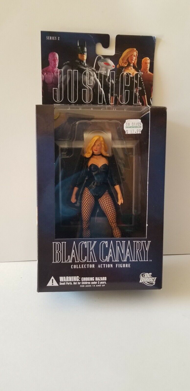 Rare Black Canary Series 2 Justice League Action Figure In Box  - $60.00