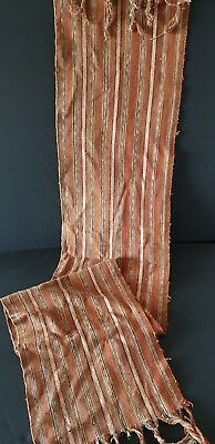 Old Sumba Island Hand Woven Neck Scarf …beautiful accent / collection piece