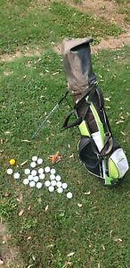 Junior Kids Golf Set - woodworm 3W, hybrid,7iron,9iron & putter