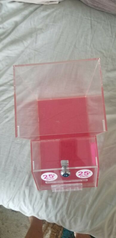 Donation / Honor Display box Acrylic with Pocket for information/business card