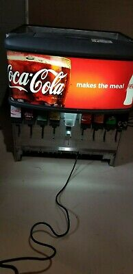 Lancer 8 Head Coca Cola Soda Fountain Machine Counter Top 4548