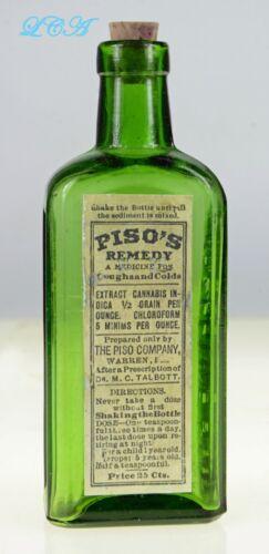 EMERALD green PISO