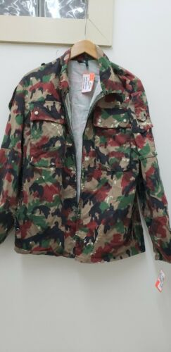 Swiss Military Issued Alpenflage Camo Jacket-NEW-MR