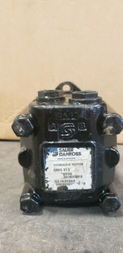Sauer Danfoss OMS 315 Hydraulic Motor, Used 200 Hrs