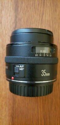 Canon EF 35mm 2 camera Lens
