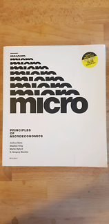 Textbook microeconomics seventh edition textbooks gumtree principles of microeconomics fandeluxe Image collections