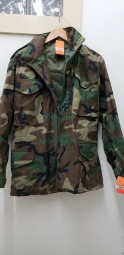 Military Issued Woodland M65 Field Jacket-XSR