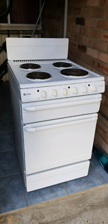 Chef electric oven/stove top