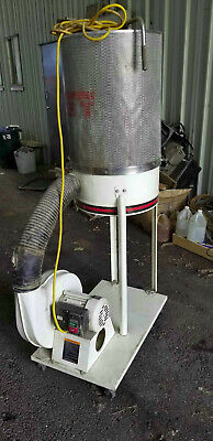 Jet Dc-1200c Dust Collector 2hp Motor Works Great