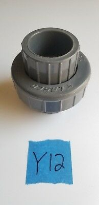 Lasco Pvc 1-14 Union Slipslip Sch80 897-012 Pvci Socketsocket