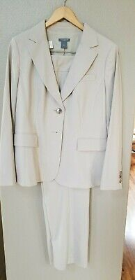 NWT WOMEN'S ANN TAYLOR SUIT SZ14 COAT, SZ10 PANTS