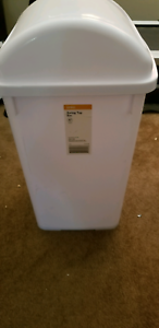 Garbage bin - New, White, 27Litres Riverview Ipswich City Preview