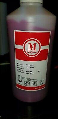 Budget Ink Magenta Eco Solvent Ink Dx4 Dx5 Roland Mimaki Mutoh Printers 1 Liter
