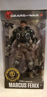 2017 Mcfarlane Toys Gears Of War 4 Marcus Fenix Figure
