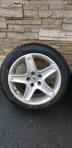 17 inches Acura TL mags and tires