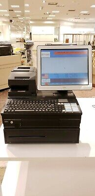 Fujitsu 3000 Complete Retail Pos System W Hard Drive Microsoft Windows 2000