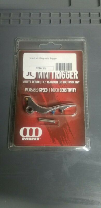 Invert Mini Magnetic Trigger Silver - Paintball