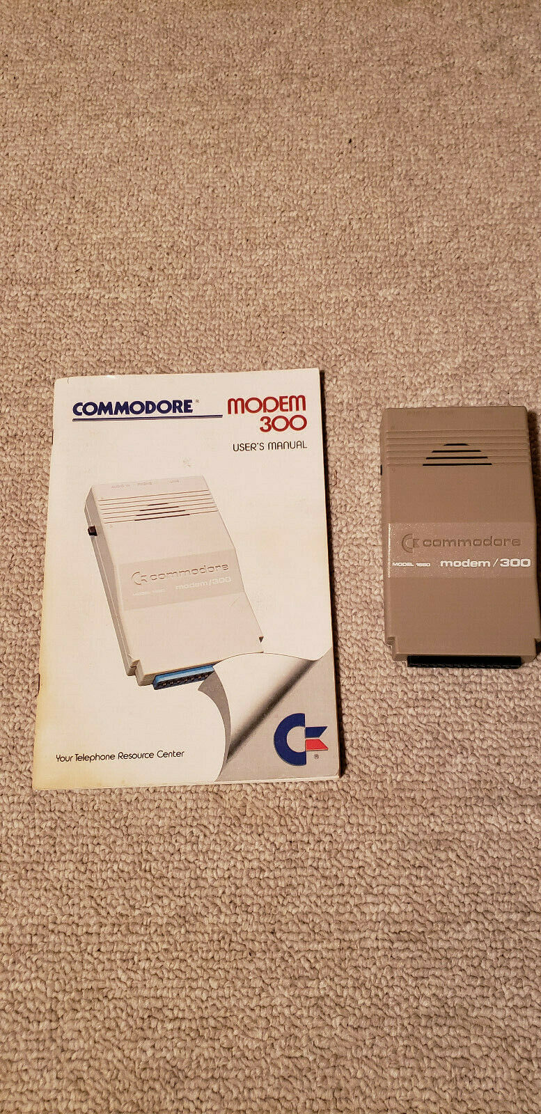 Commodore 64 Modem And Sound Cartridge Lot - $5.00