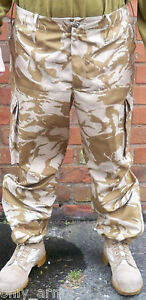 British-Army-Desert-DPM-Windproof-Combat-Trouser-ALL-SIZES-SAS-Para-Genuine