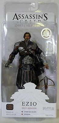 Ezio Onyx Assassin -unhooded- Assassin's Creed Brotherhood 7 Figure Tru 2012