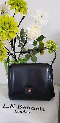 Lk Bennett black leather Bag