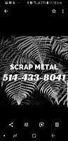 SCRAP MÉTAL PICK UP RAMASSAGE SERVICE RAMASSAGE