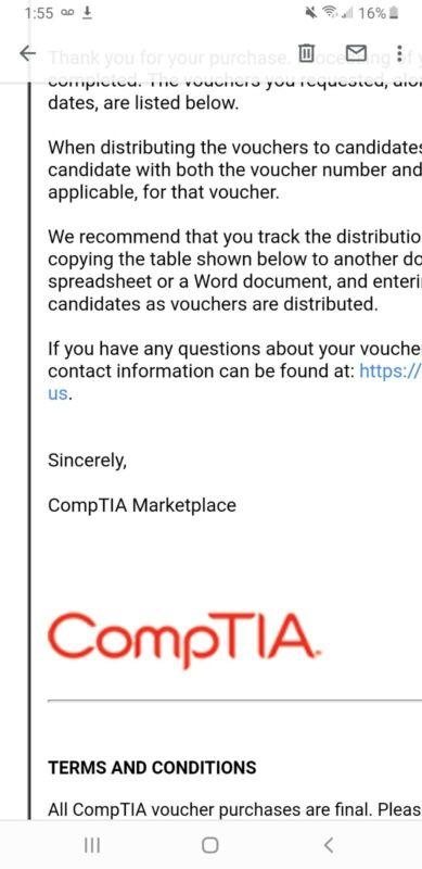 comptia network n10-007 voucher