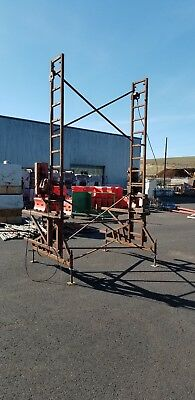 Ez Non Stop Heavy Duty Crank Up Scaffolding. 31 Tall Or More