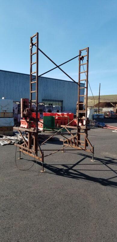 EZ non stop heavy duty crank up scaffolding. 31