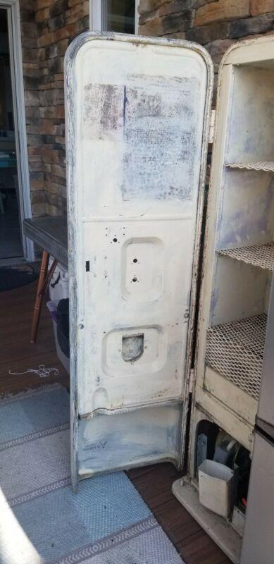 Antique soda vending machine
