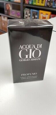 GIORGIO ARMANI * ACQUA DI GIO PROFUMO * 3.4oz/100ml AFTER SHAVE MEN NEW IN BOX