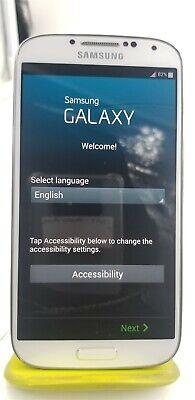 Samsung Galaxy S4 16GB White SGH-M919 ( Unlocked) Refurbished MINT RF6908