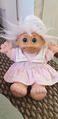 Russ Troll Kidz Soft Body Doll Retro Vintage Collectable 90s