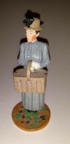 Franklin Mint Wizard of Oz Miss Gulch Figurine Vintage Oz FM figurine Rare