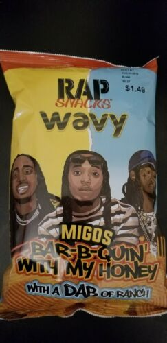 New Rap Snacks Migos Bar B Quin With My Honey With A Dab Of Ranch For Sale Online