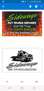 SIDEWAYS 24/7 TOWING SERVICES CALL TODAY  PICK UP SCRAP CARS FREE Biggera Waters Gold Coast City Preview