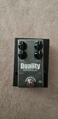 Darkglass Electronics Duality Dual Fuzz Engine Guitar Bass Effect Pedal