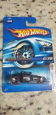 HOT WHEELS 2006 FIRST EDITIONS BONE SHAKER COLLECTORS.COM APOLOGY CAR